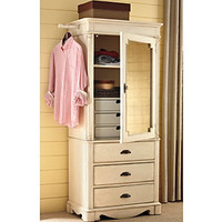 Universal Furniutre® River House Dressing Armoire in River Boat at www.carsons.com