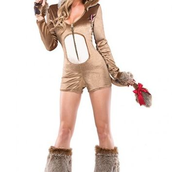 Beige Lucky Lioness Costume @ Amiclubwear costume Online Store,sexy costume,women's costume,christmas costumes,adult christmas costumes,santa claus costumes,fancy dress costumes,halloween costumes,halloween costume ideas,pirate costume,dance costume,cost
