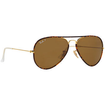 Ray-Ban Sunglasses, RB3025JM 58 AVIATOR FULL COLOR | macys.com
