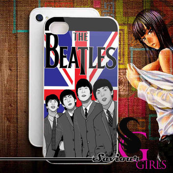 The Beatles for iPhone 4/4S, 5/5S, 5C and Samsung Galaxy S3, S4 - Rubber and Plastic Case