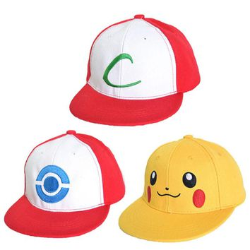 Children Pokemon Go Cap snapback Hat Kids Team Valor Team Mystic Team Instinct Pokemon Cap Pokemon baseball Cap Hat Gorras