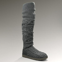 UGG® Over the Knee Twisted Cable for Women | Thigh High Knit Boots at UGGAustralia.com
