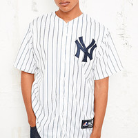 Majestic Athletic New York Yankees Baseball Shirt - Urban Outfitters