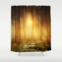 Faith in Others Shower Curtain by Viviana Gonzalez