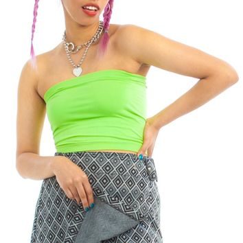 Vintage 90's Retro Wrap Skirt - M