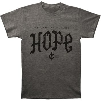 We Came As Romans Men's  Cracked Hope T-shirt Heather Rockabilia
