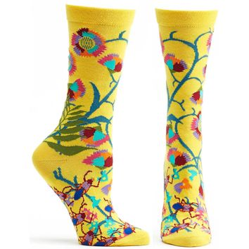 African Florals Sock