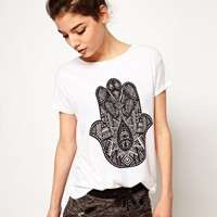 Illustrated People Peace T-Shirt at asos.com