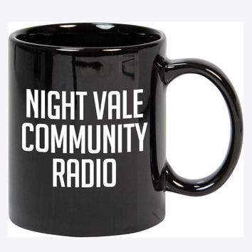 Night Vale Community Radio Mug (Black)