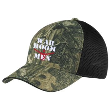 War Room Men Camo Cap with Mesh