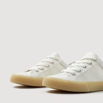 Contrast sole sneakers - Women | MANGO USA