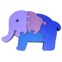 Wooden Elephant Puzzle - Matr Boomie