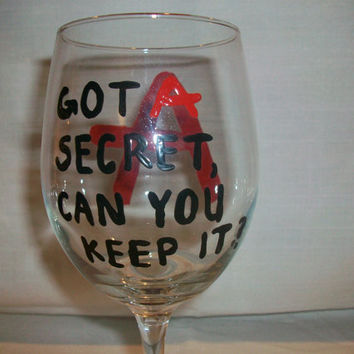 Pretty Little Liars Wine Glass