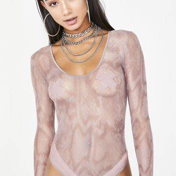 Serpent Sinna Mesh Bodysuit