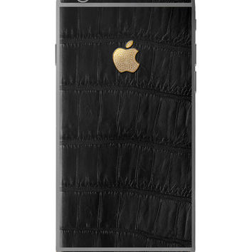 Hadoro IPhone 6S Alligator Black Diamond