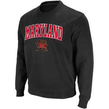 Maryland Terrapins Arch and Logo Sweatshirt – Charcoal