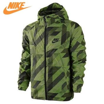 Nike Mens Windproof Windrunner Jacket Out Door Training Jacket Green 687564-702