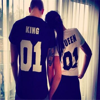 ONETOW OPAL FERRIE -  Couple/Lover King & Queen T-shirts