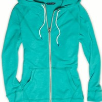 AEO Women's Performance Solid Zip Hoodie