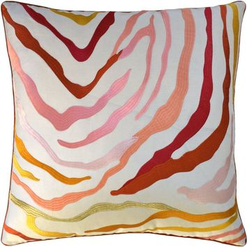 Kilimangaro Coral Decorative Pillow