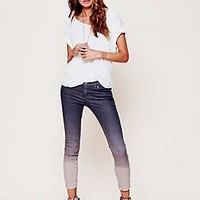 Free People  Dip Dye 5 Pocket Skinny Jeans at Free People Clothing Boutique