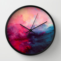 Reassurance Wall Clock by Caleb Troy