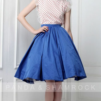 Lovely morning/women clothing/dress/skirt/top/­dots/vintage/summer/custom made/13032F