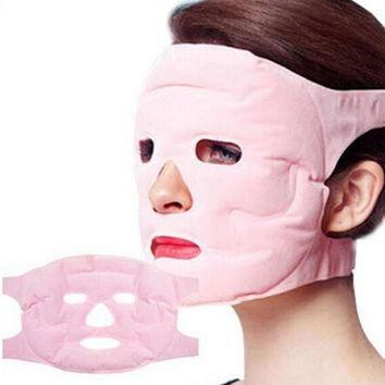 Tourmaline Gel gel magnet  Facial mask Slimming Beauty massage face Mask thin Face remove pouch Health Care