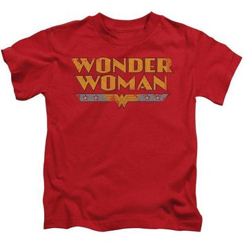 DCCKM83 Wonder Woman Logo Short Sleeve Juvenile 18/1