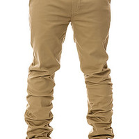 The Davis Slim Chino Pants in Khaki