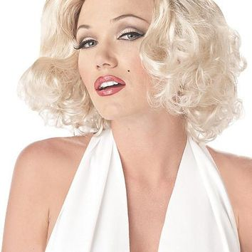 Sexy Marilyn Monroe Blonde  Wig (One Size,Blonde)