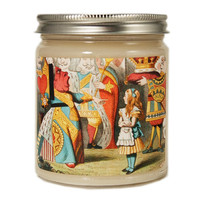 Alice in Wonderland Candle, Queen of Hearts Candle, Custom Scented Candle, Alice in Wonderland Gift, Alice in Wonderland Scented Candle