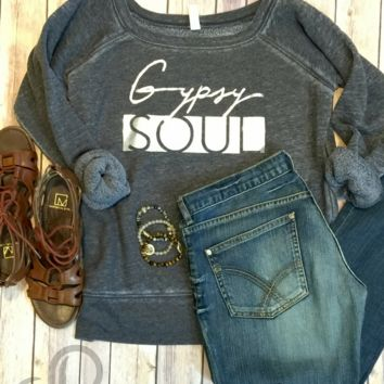 Gypsy SOUL Wide Neck Fleece