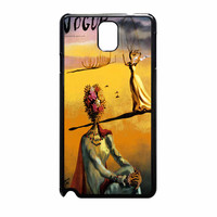 Salvador Dali Woman With Flower Head Vogue Samsung Galaxy Note 3 Case