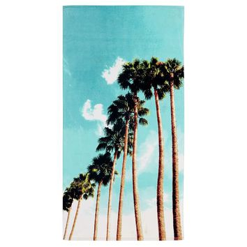 Photoreal Palm Beach Towel