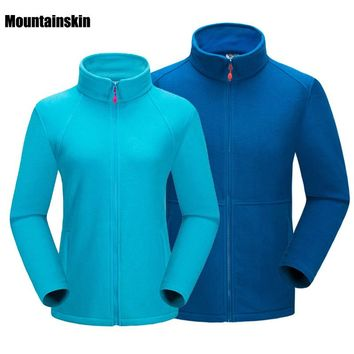 Men Women's Winter Fleece Softshell Jackets Outdoor Sports Thermal Brand Clothing Hiking Camping Skiing Female Male Coats VA094