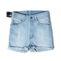 insane jungle HIGH WAISTED SHORT SKIN SHORTS - CHEAP MONDAY - WOMEN'S