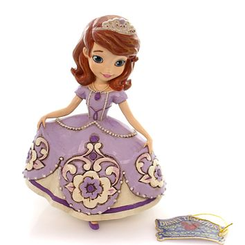 Jim Shore The New Girl In Crown Figurine
