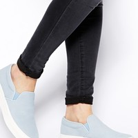 ALDO Mara Light Blue Slip On