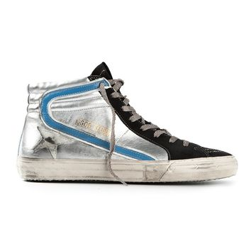 Golden Goose Deluxe Brand distressed hi-top sneakers
