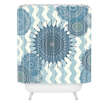 Monika Strigel My Blue Winter Dreams Shower Curtain