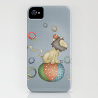 Lion (Circus series) iPhone Case by Carina Povarchik | Society6