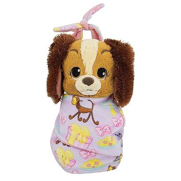 Disney Parks Baby Lady in a Blanket Pouch Plush New with Tags