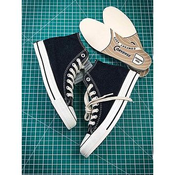 17aw Converse Chuck Taylor All Star Hi Addict Vibram Black Sneakers