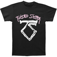 Twisted Sister Men's  We're Not Gonna Take It T-shirt Black