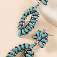 Western Bead Dangle Earring