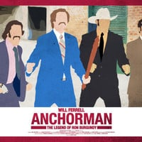 Anchorman 17 x 11 Movie Poster