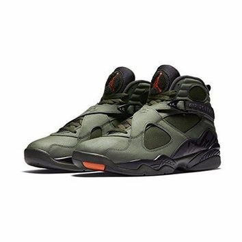 "Nike Mens Air Jordan Retro 8 ""UNDFTD"" Basketball Shoes"
