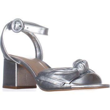 Aldo Beautie Ankle Strap Dress Sandals, Silver, 7.5 US / 38 EU