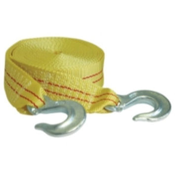 TOW STRAP WITH FORGED HOOKS 2IN. X 25FT. 10000LB